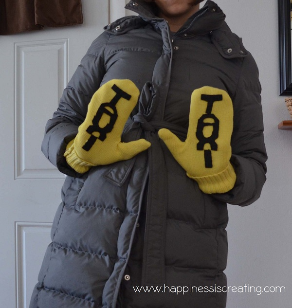 Kate Spade Inspired Taxi Gloves