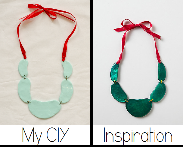 Anthropologie Inspired Necklace //www.happinessiscreating.com
