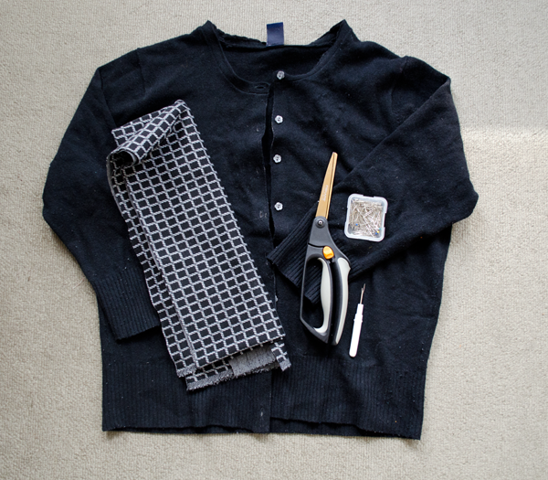 Windowpane sweater// ww.happinessiscreating.com