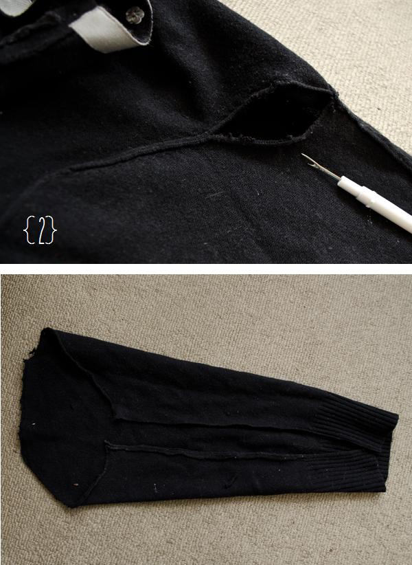 Windowpane sweater// ww.happinessiscreating.com