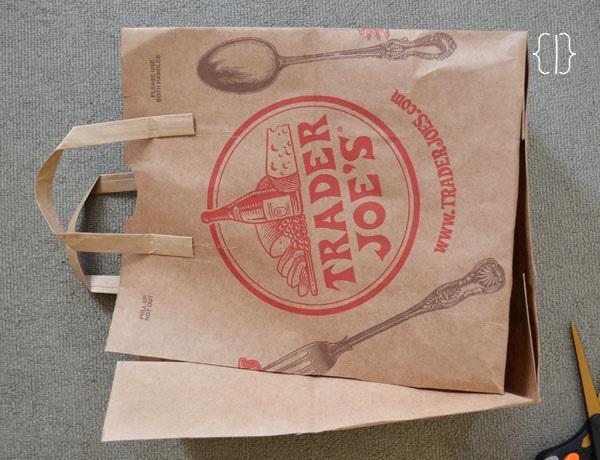Recycled Trader Joe's Bag