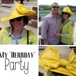 DIY Large Bow Derby Hat
