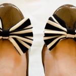 DIY Bow Shoe Pops