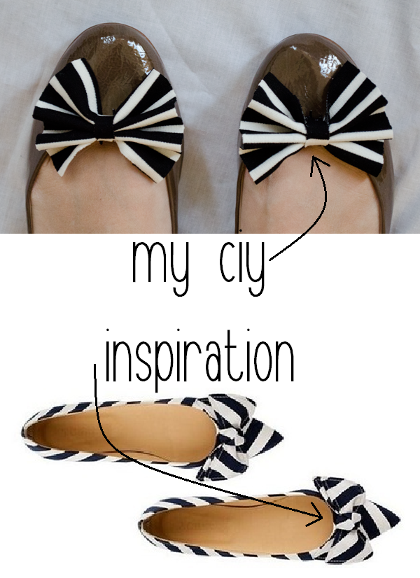 Bow Ballet Flats // www.happinessiscreating.com