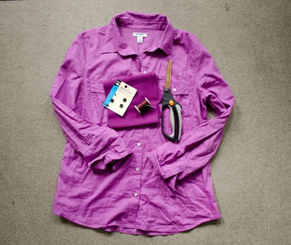 CIY: Camp Shirt :: www.happinessiscreating.com