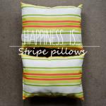 DIY Outdoor Striped Pillows