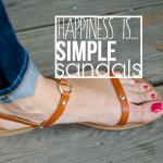 Transformation - Simple Sandals