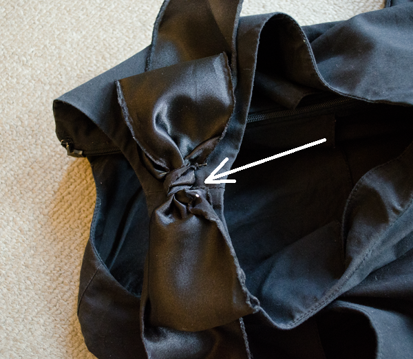 CIY: Add bow detail to your dress or top ::  www.happinessiscreating.com