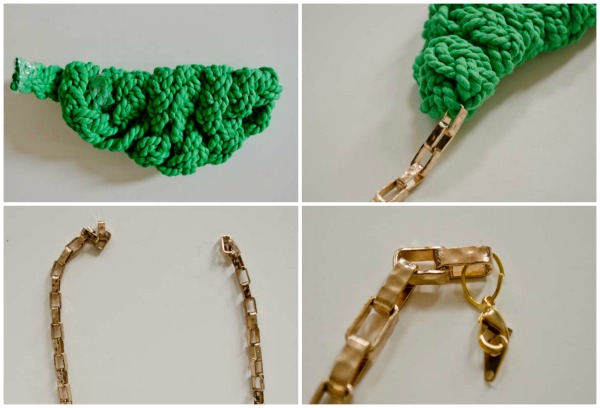 Make a JCrew inspired necklace! :: www.happinessiscreating.com