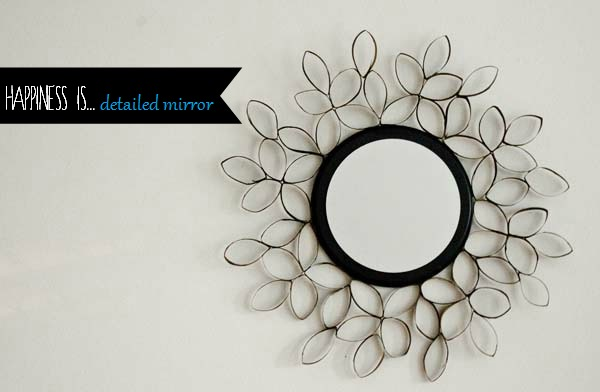 Make a Crate and Barrel inspired mirror! ::  www.happinessiscreating.com