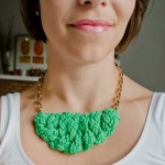 Knitted Statement Necklace