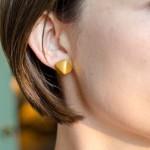 Clay Geometric Earrings
