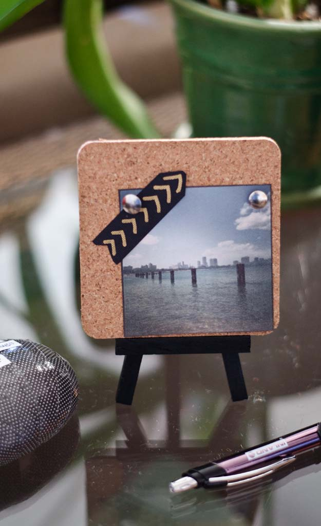 Diy Instagram Mini Easel Display Happiness Is Creating
