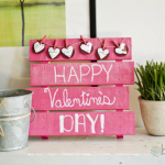Mini Valentine's Day Pallet
