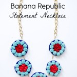 Banana Republic Inspired Necklaceq