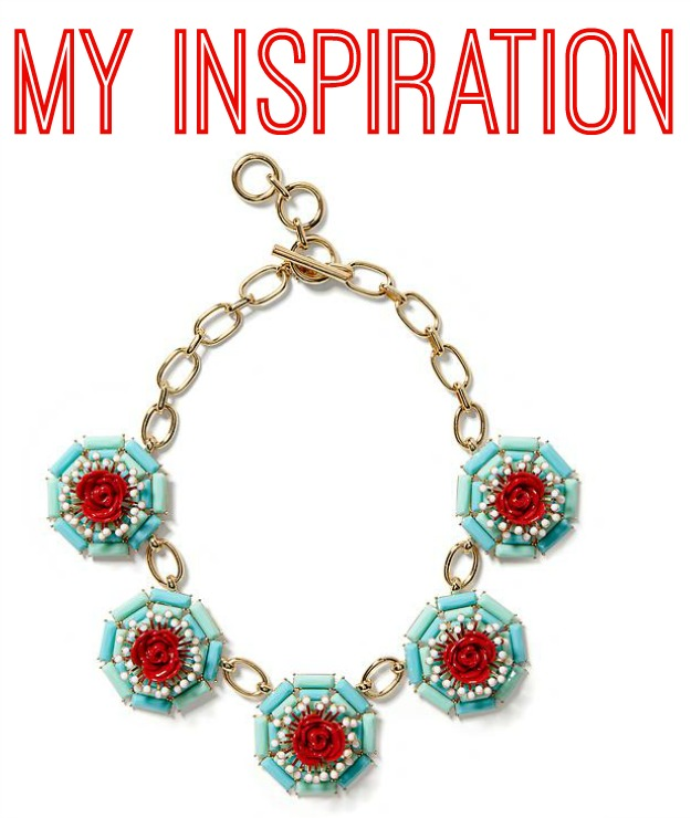 DIY Banana Republic Inspired Statement Necklace