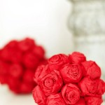Paper Rose Pomanders