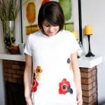 T-shirt Challenge - Floral Design