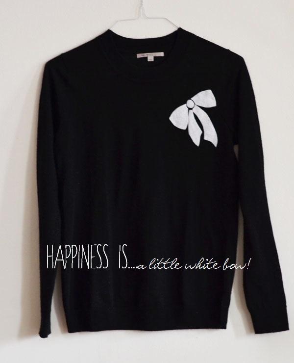 Jcrew Inspired Bow Sweater