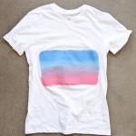 T-shirt Challenge - Sunset