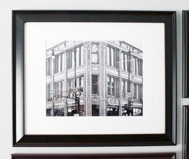 diy, frames, gallery wall,