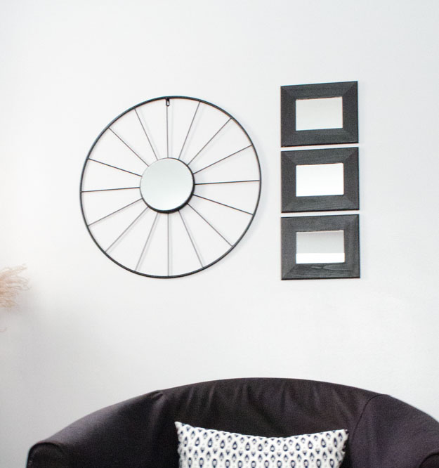 DIY Metal Wall Mirror
