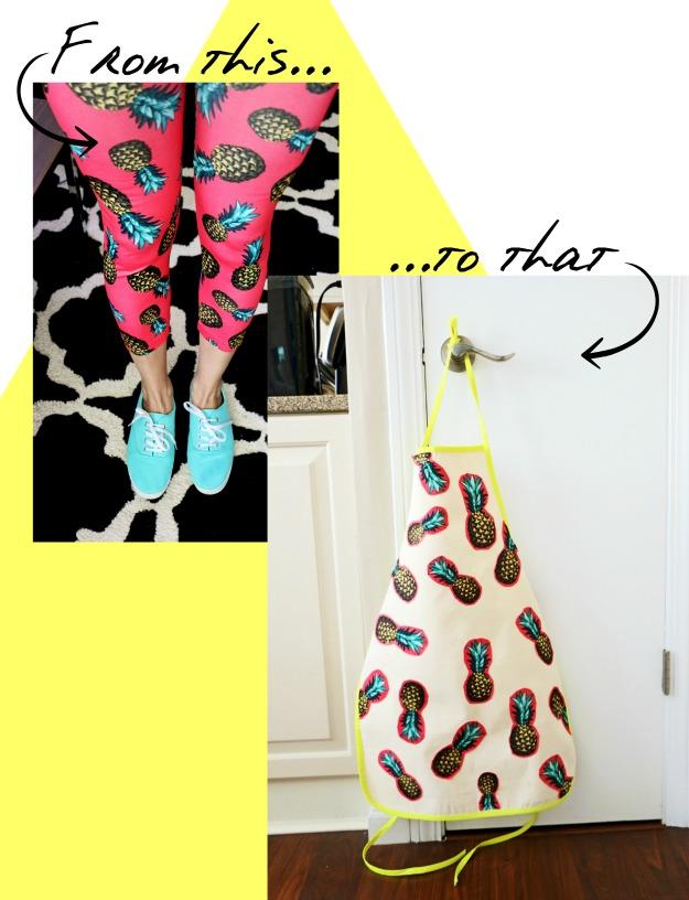 Blitsy Thursdays: pineapple apron Kate Spade inspired dishes
