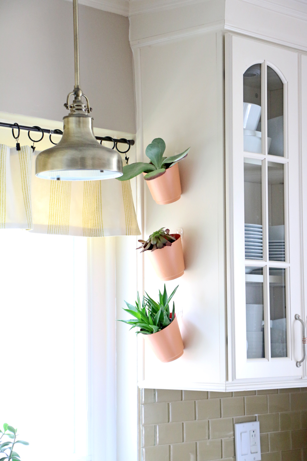 DIY Hanging Kitchen Planters