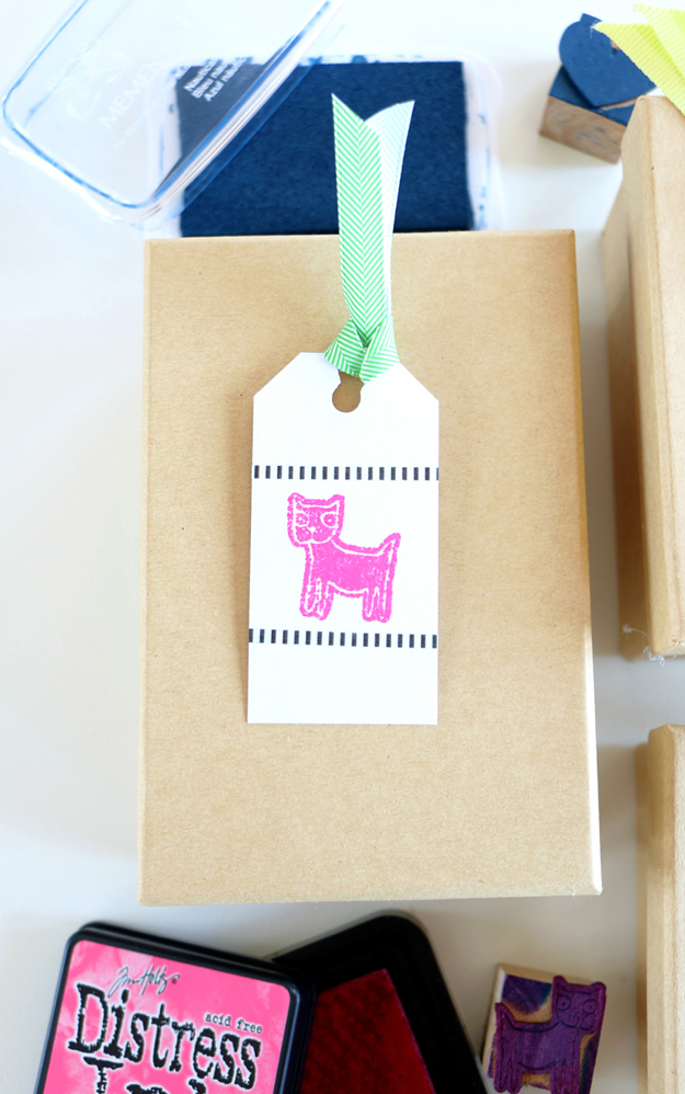Turn your wood veneers into playful stamps in a few easy steps!