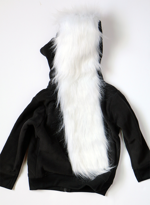 DIY Skunk Costume