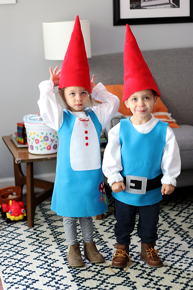 DIY Gnome Halloween Costume